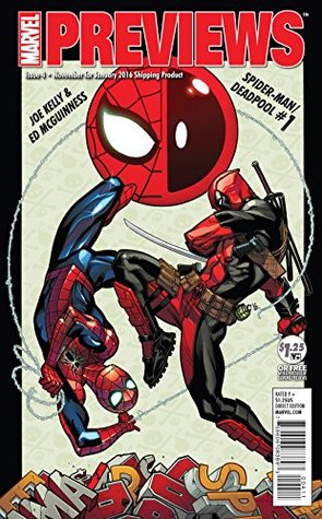 January 2016 Marvel Previews