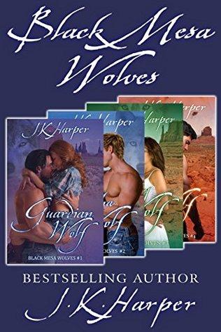 Black Mesa Wolves (Black Mesa Wolves #1-4) by J.K. Harper