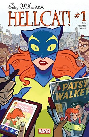 Patsy Walker, A.K.A. Hellcat! #1 by Kate Leth