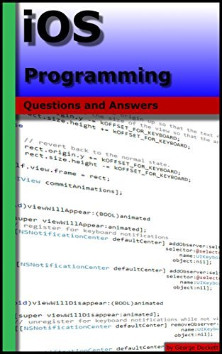 iOS Programming: Questions and Answers