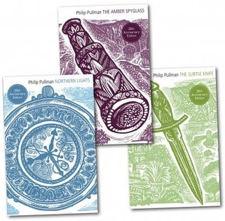 Philip Pullman His dark materials Trilogy 3 books Set Pack-Northern Lights, The Subtle Knife, The Amber Spy Glass