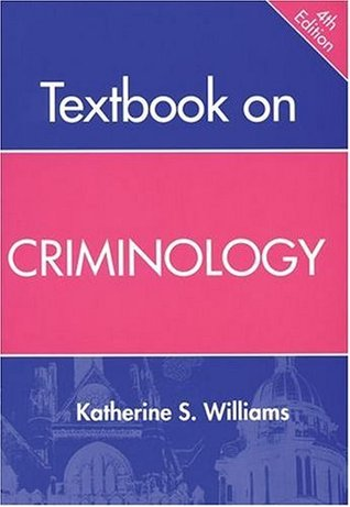 Textbook on Criminology, 4th Ed.