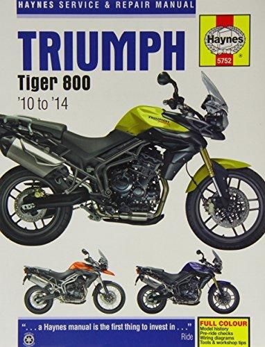 Triumph Tiger 800 Service and Repair Manual: 2010 - 2014