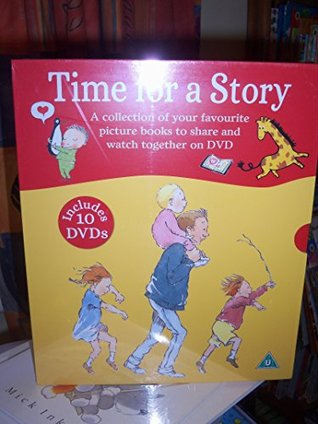 TIME FOR A STORY 10 BOOKS WITH 10 DVDS. Carlo and the Really Nice Librarian/Can't You Sleep Little Bear/Cowboy baby/Handa's Surprise/Little Rabbit Foo Foo/Owl Babies/Penguin/ Some dogs Do/We're Going On a Bear Hunt/ Za-za's Baby Brother