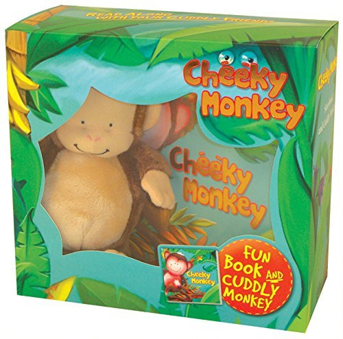 Cheeky Monkey: Story Book and Cuddly Monkey (Book & Plush)