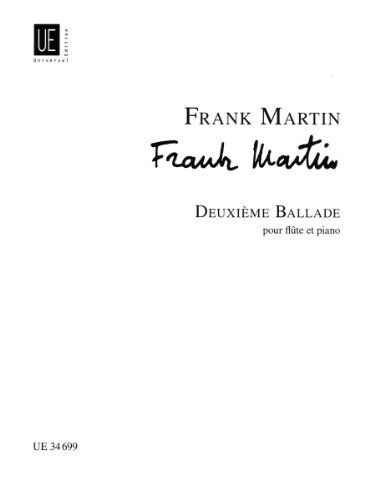 Deuxieme Ballade for Flute and Piano