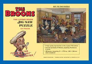 The Broons 'The Living Room' Jig-Saw Puzzle