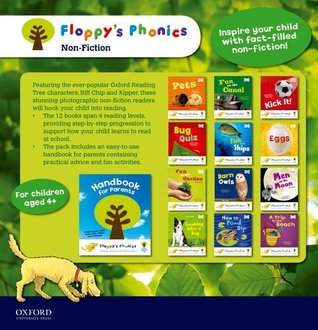 Floppy's Phonics Non-Fiction 13 Books set With Handbook For Parents