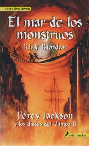 Reseña #50: El Mar de los Monstruos - Rick Riordan