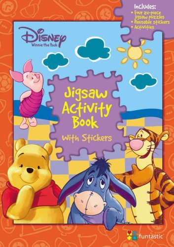Disney Winnie the Pooh: Jigsaw Activity Book