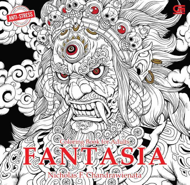 Anti Stress: Fantasia (Coloring Book for Adults)