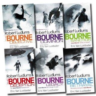 Jason Bourne Series by Robert Ludlum