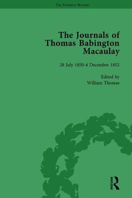 The Journals of Thomas Babington Macaulay Vol 3