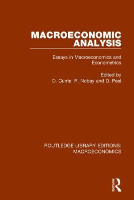 Macroeconomic Analysis: Essays in Macroeconomics and Econometrics