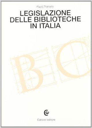 Legislazione delle biblioteche in Italia