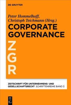 Corporate Governance Im Grenzuberschreitenden Konzern