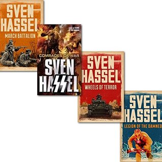 Sven Hassel Cassell Military Series 4 Books Collection Set,