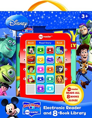Disney® Electronic Reader and 8 Book Library