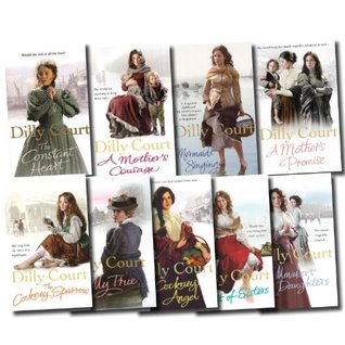 Dilly Court Collection 9 Books Set