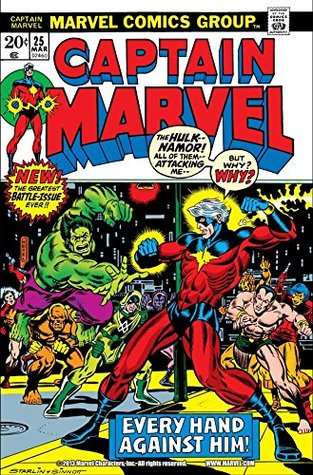 Captain Marvel (1968-1979) #25 by Mike Friedrich
