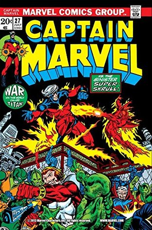 Captain Marvel (1968-1979) #27 by Mike Friedrich