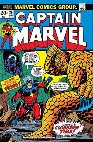 Captain Marvel (1968-1979) #26 by Mike Friedrich