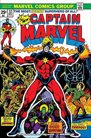 Captain Marvel (1968-1979) #32 by Mike Friedrich