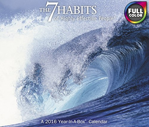 The 7 Habits of Highly Effective People Year-In-A-Box Calendar (2016)
