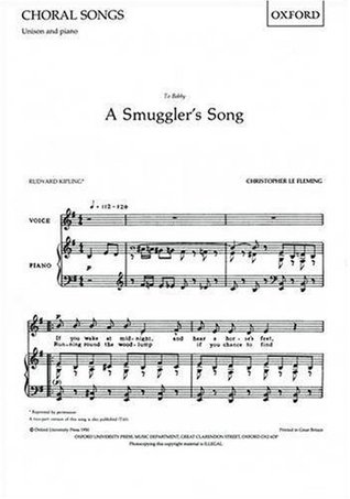 A Smuggler's Song: Unison version