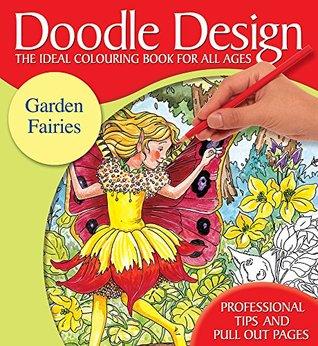 Doodle Design Pad - Garden Fairies