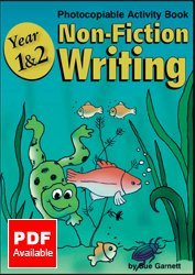 Year 1 and Year 2: Non-fiction Writing