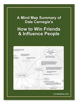 "A Mind Map Summary of Dale Carnegie's ""How to Win Friends & Influence People"""