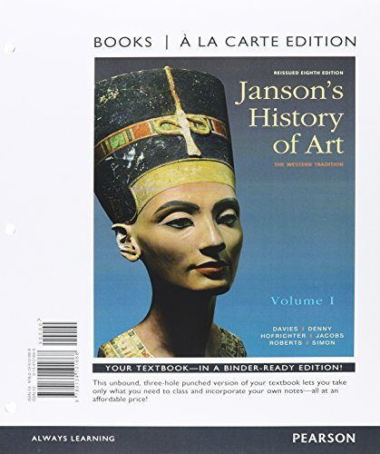 Janson's History of Art Volume 1, Books a la Carte Edition Plus REVEL -- Access Card Package (5th Edition)