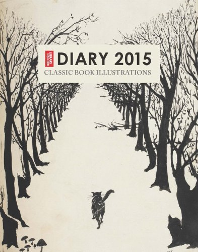 British Library Pocket Diary 2015: Classic Book Illustrations