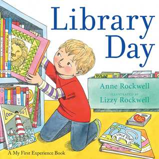 Library Day By Anne F Rockwell