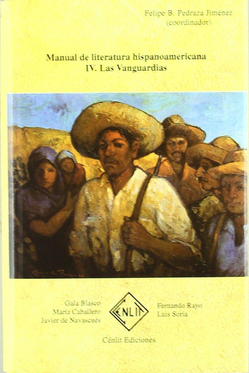 Manual de literatura hispanoamericana, tomo 4