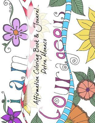 Affirmation Coloring Book & Journal
