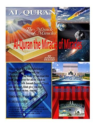 Al quran the miracle of miracles ebook version by ahmed deedat 28452946 fandeluxe Document