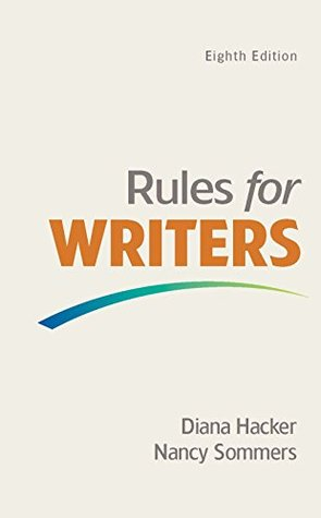 Rules for writers with writing about literature by diana hacker fandeluxe Gallery