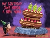 My Birthday Cake Needs A New Home by Chris Stead
