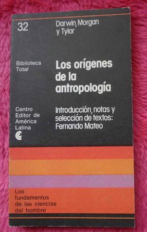 Los origenes de la antropologia