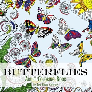 Adult Coloring Book: Butterflies by Two Hoots Coloring
