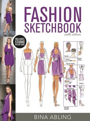 Fashion Sketchbook: Bundle Book + Studio Access Card