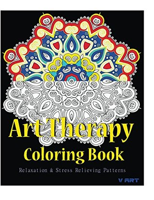 Art Therapy Coloring Book Adult Stress Relieving Patterns