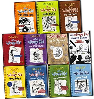 Diary of a wimpy kid collection 11 books set pack by jeff kinney rrp 28496776 solutioingenieria Gallery