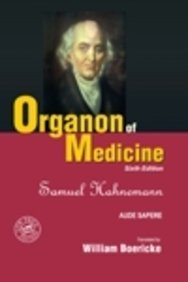 Organon Of Medicine with Word Index - 6th Ed.