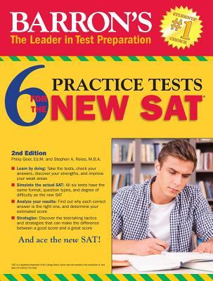 Barrons 6 new sat practice tests by sharon weiner green 24506963 fandeluxe Choice Image