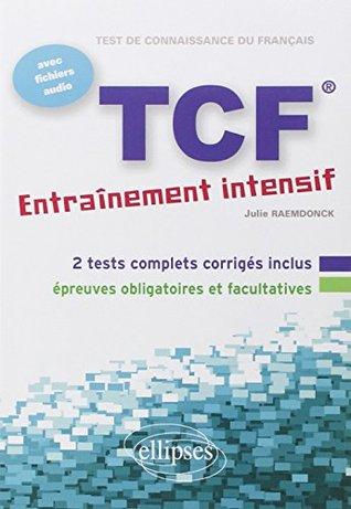 TCF - Entraînement intensif : Français Langue Etrangère