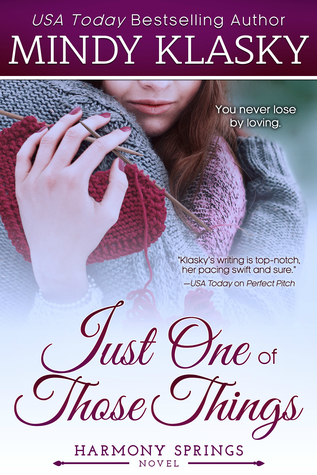 Just One of Those Things (Harmony Springs, #1)