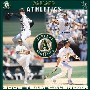 Oakland A's 2004 16-month wall calendar